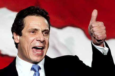 New York Governor Andrew Cuomo ratifies DFS bill