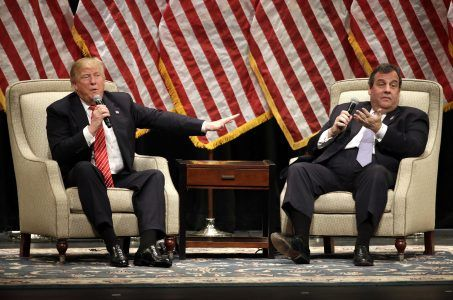 Donald Trump casino taxes Chris Christie