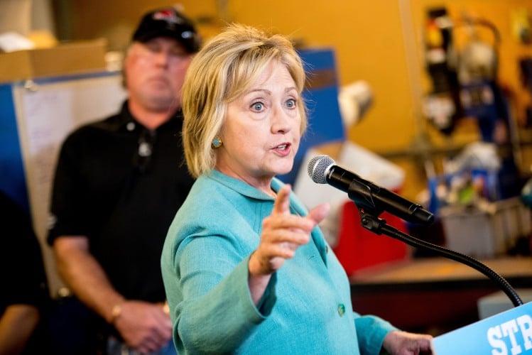 Hillary Clinton stumps in Nevada
