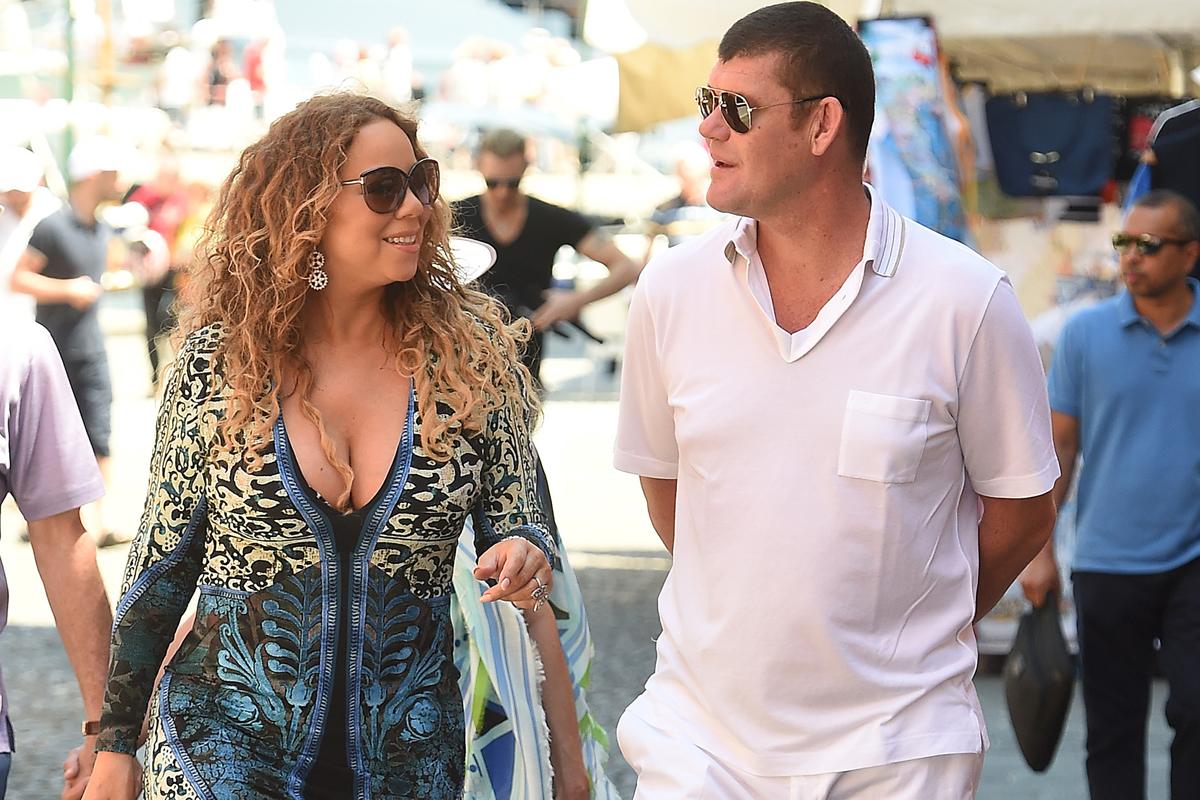 James Packer Mariah Carey Crown Resorts sell off