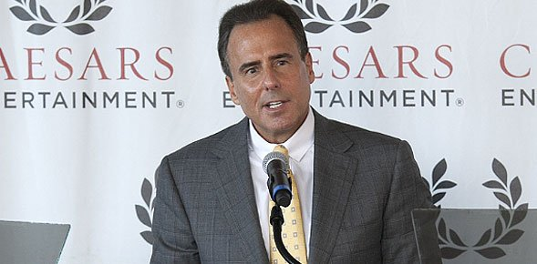Caesars Entertainment's Mark Frissora reports revenue growth