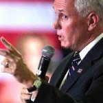 GOP VP Nominee Mike Pence Stumps in Nevada, Gambling Views Surface