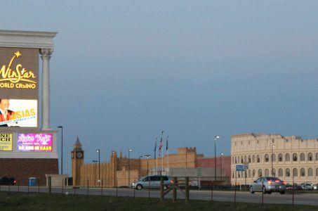Oklahoma casinos non-compete entertainment WinStar