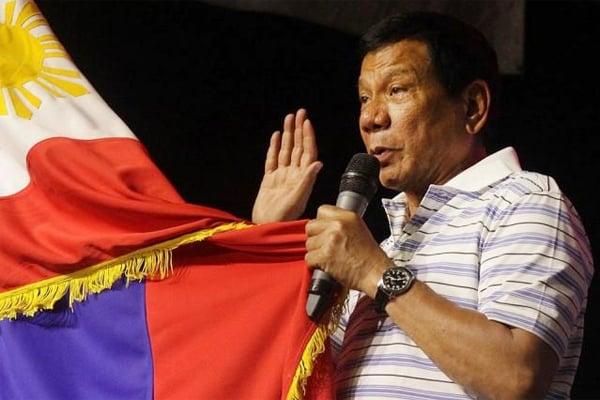 Philippines online gambling President Rodrigo Duterte
