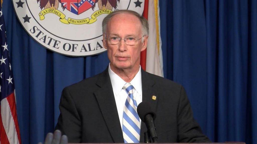 Alabama lottery Governor Robert Bentley