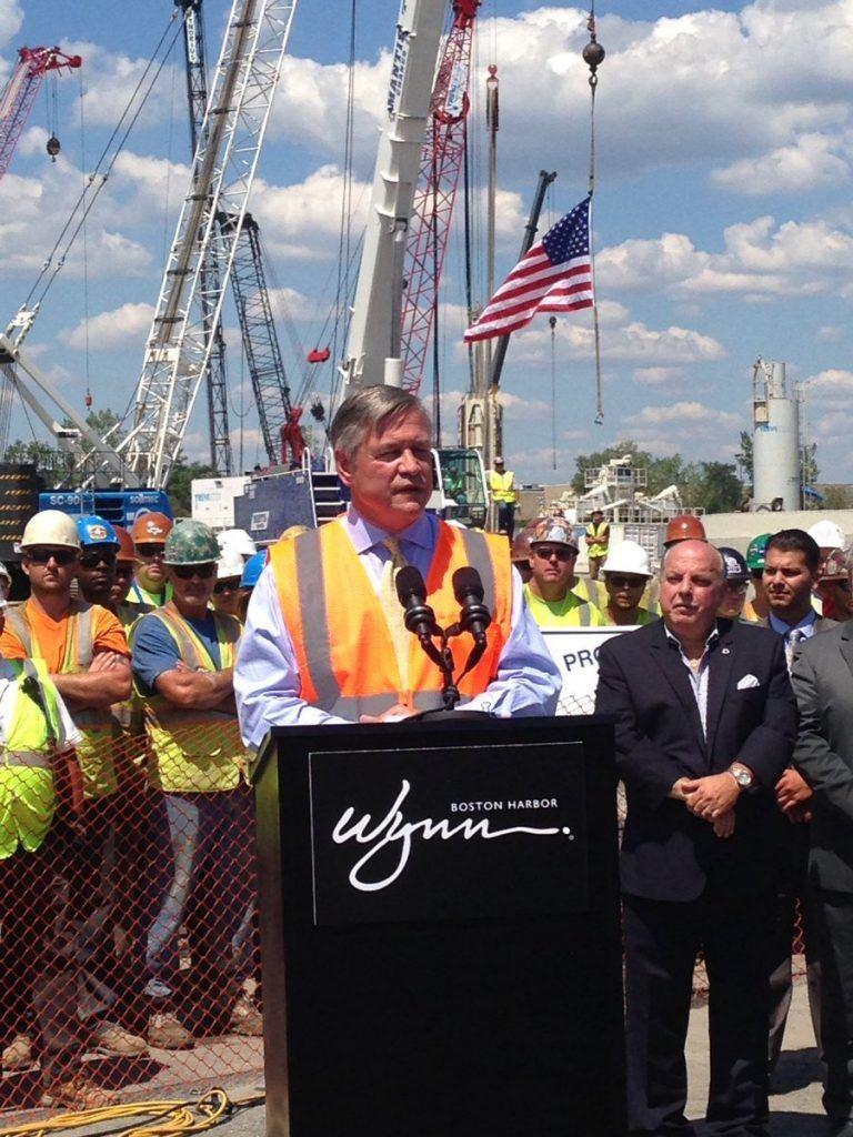 Wynn Boston Harbor construction begins