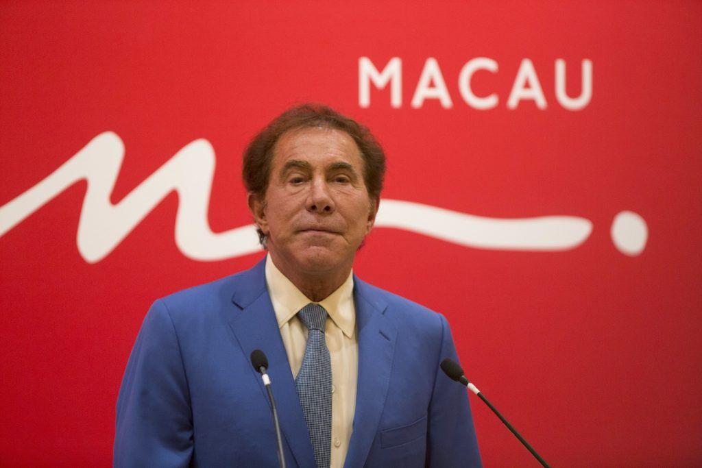 Macau economy casino revenue Steve Wynn