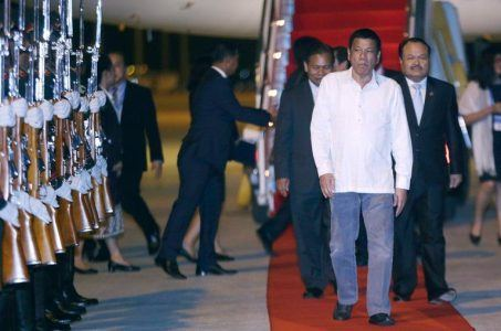 Philippines President Rodrigo Duterte China G20 Summit