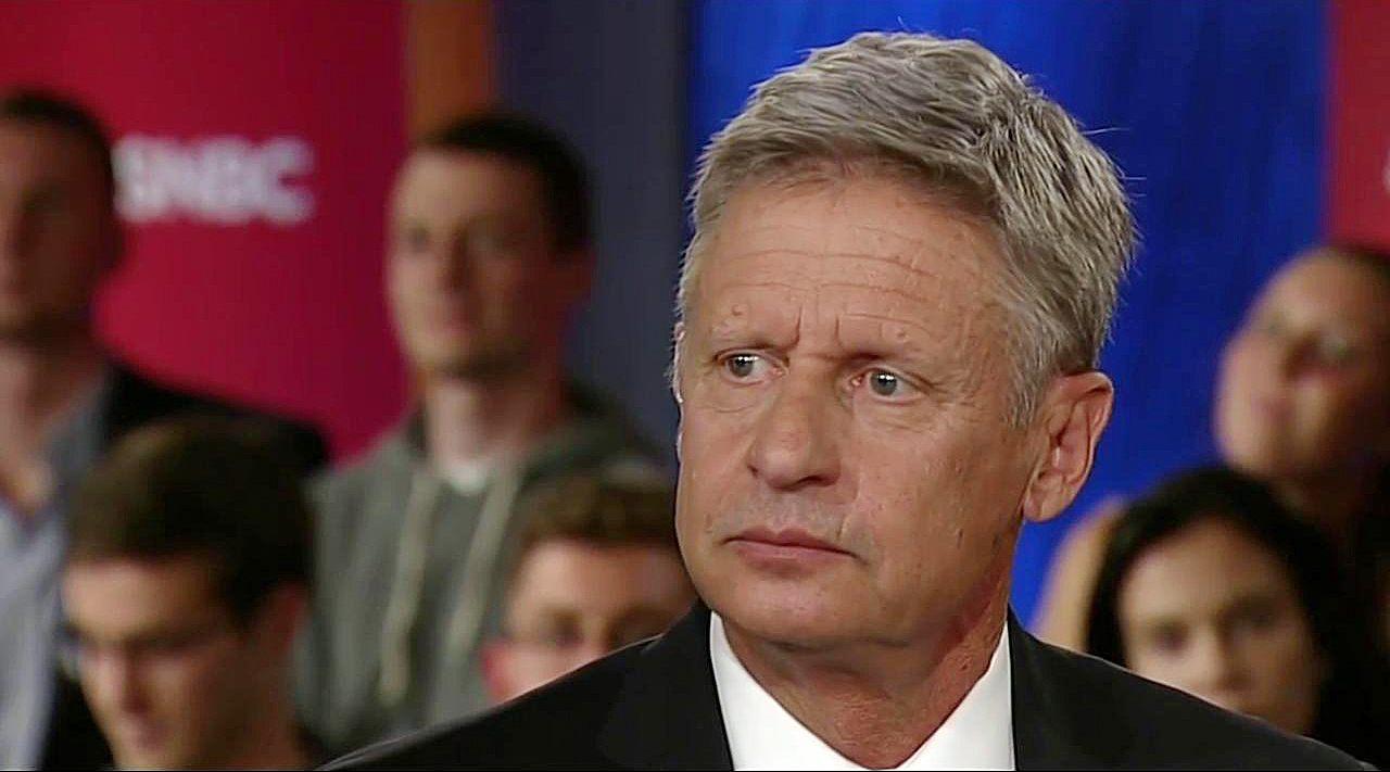 Gary Johnson MSNBC foreign leader gaffe