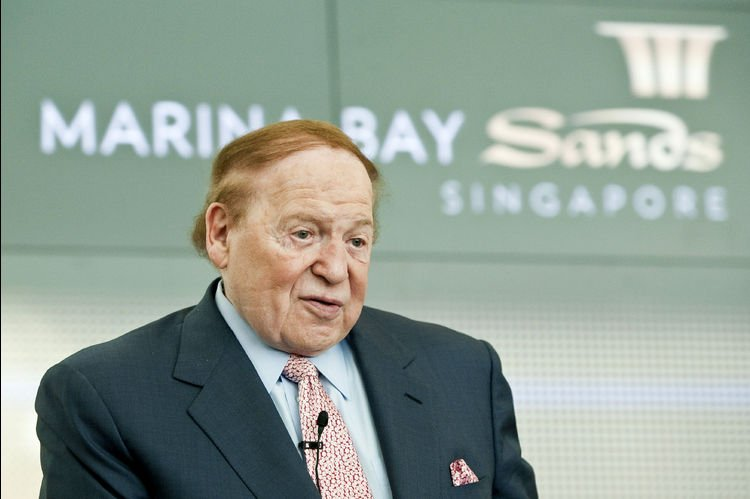 Sheldon Adelson Las Vegas Sands South Korea