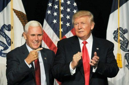 Mike Pence Indiana gambling Donald Trump