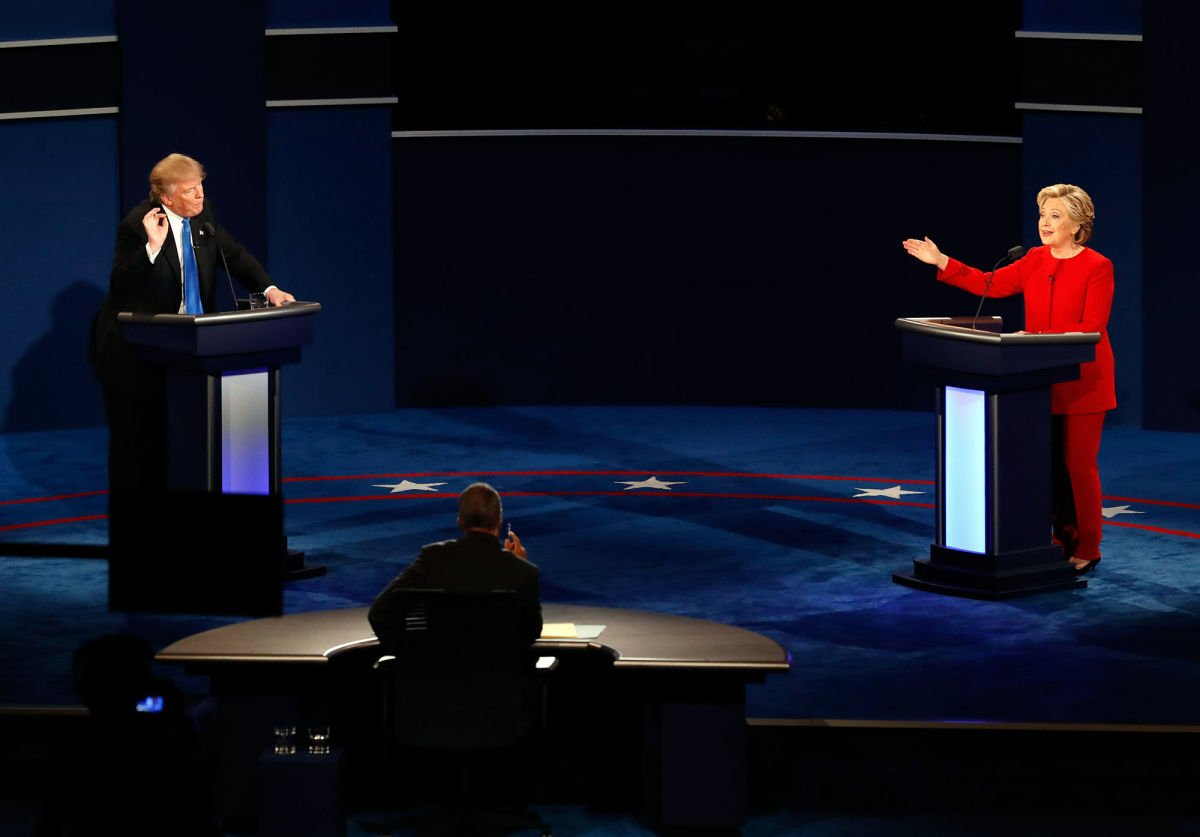 UNLV presidential debate Donald Trump Hillary Clinton