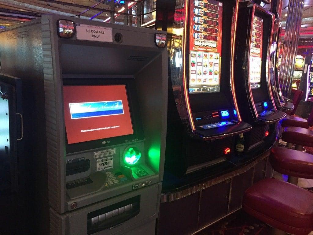 welfare recipients EBT cards gambling casino