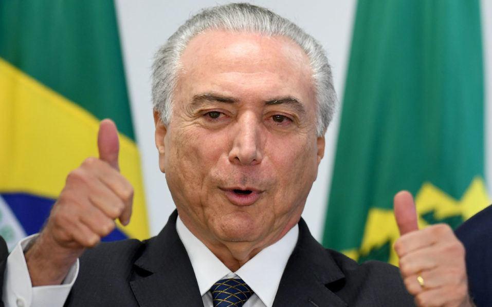 Brazil gambling legalization Michel Temer