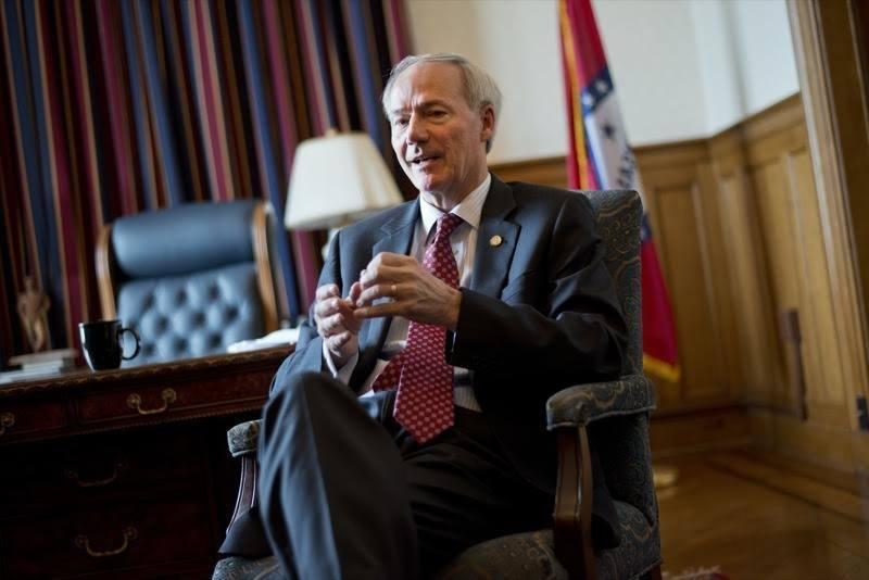 Arkansas casino measure Governor Asa Hutchinson
