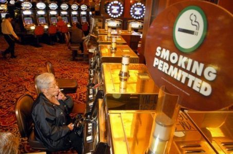 Mesquite, Nevada casinos smoke-free smoking ban