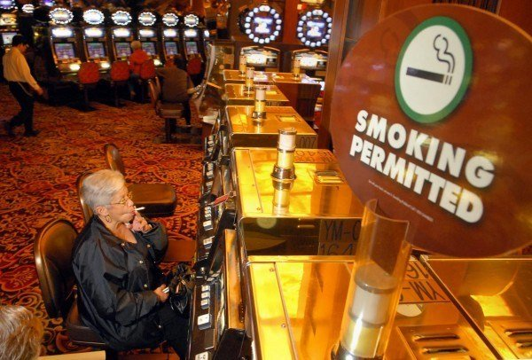 Smoking in casino maxims casino reading