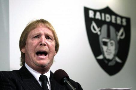 Las Vegas NFL Raiders Mark Davis Sheldon Adelson