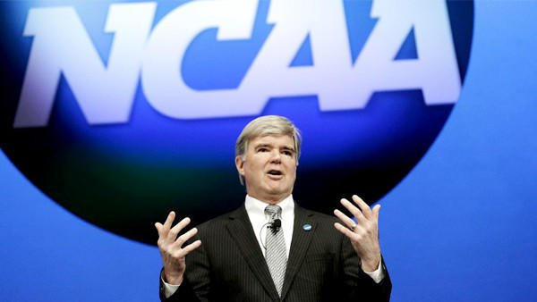 NCAA North Carolina bathroom law Mark Emmert