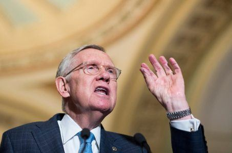 Nevada Senator Harry Reid Donald Trump