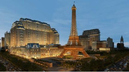 Parisian Macao opening night tonight
