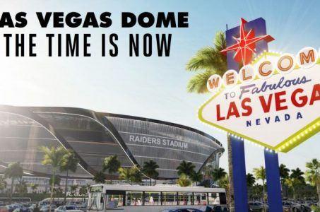 Las Vegas NFL stadium Sheldon Adelson Mark Davis