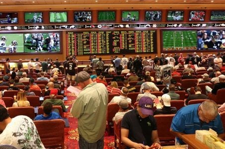college football sports betting Las Vegas sportsbooks