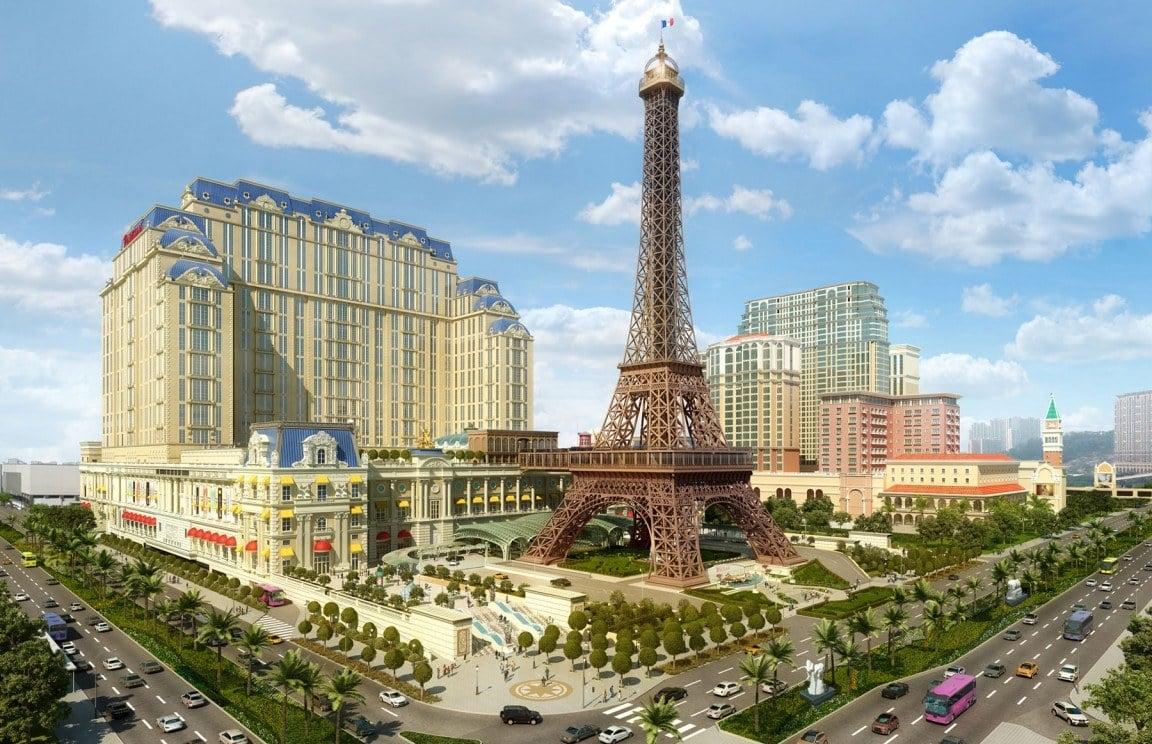 Parisian Macau allocated 150 gaming tables