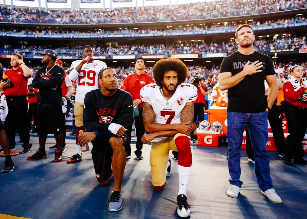 NFL TV ratings down Colin Kaepernick