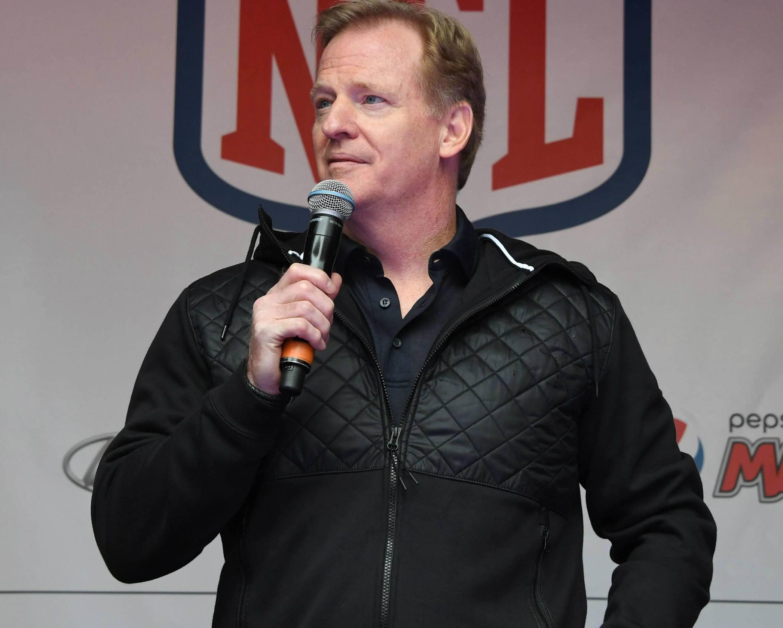 Roger Goodell NFL ratings drop