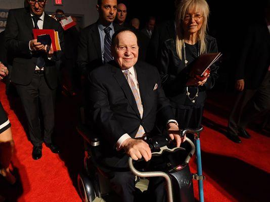 Sheldon Adelson NFL Las Vegas Raiders