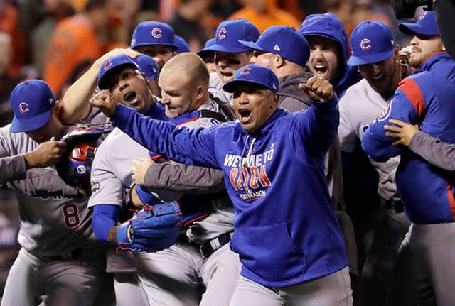 MLB league championship odds Chicago Cubs