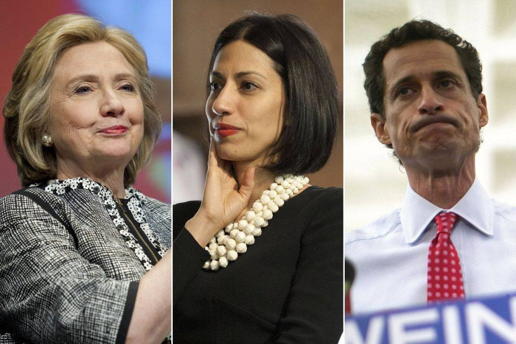 Image result for images, huma abedin and anthony weiner