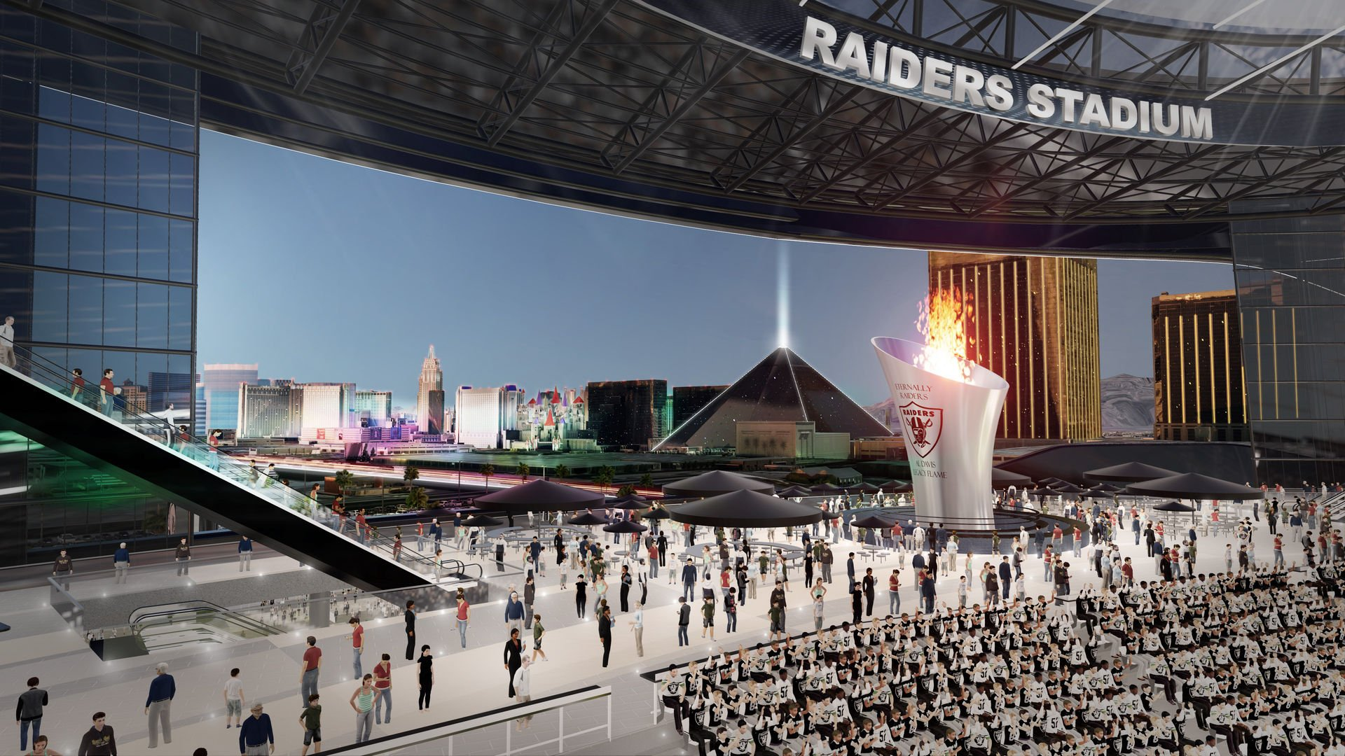 Las Vegas NFL stadium economic impact