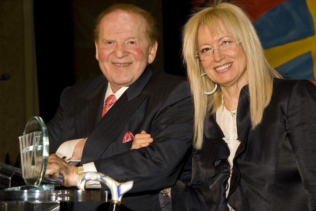 Sheldon and Miriam Adelson anti-marijuana stance