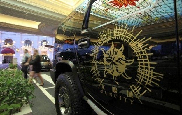 Macau junket operators China Suncity Group