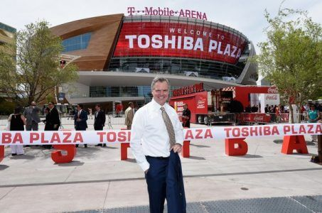 Las Vegas NBA Jim Murren T-Mobile Arena
