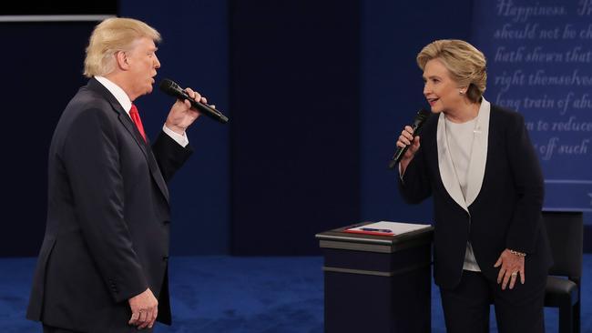 Donald Trump Hillary Clinton debate odds