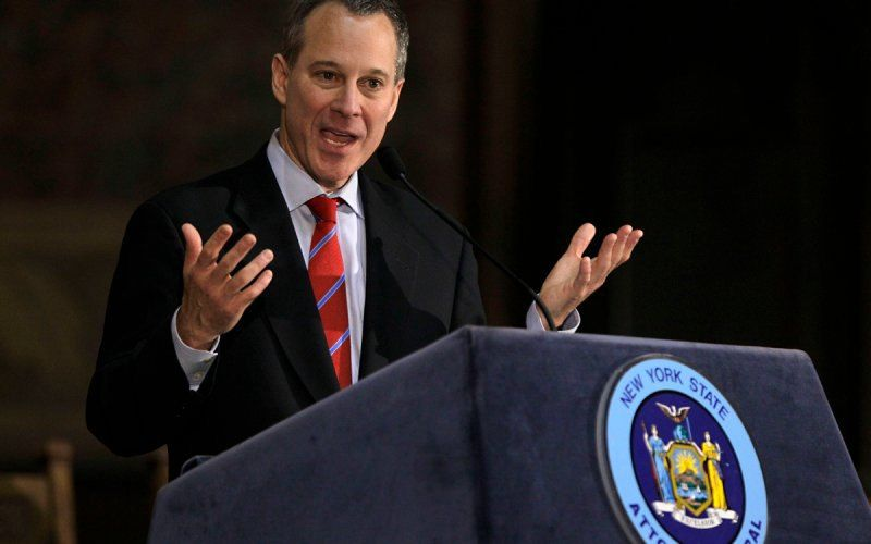 Eric Schneiderman Donald Trump Foundation IRS taxes