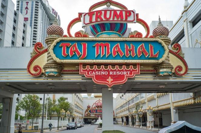 Trump Taj Closes