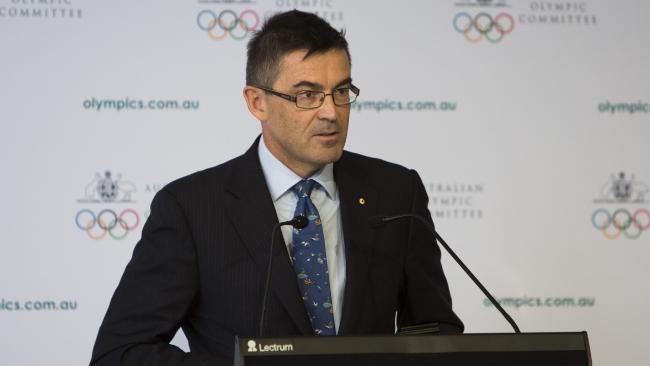 Australian Sports Commission John Wylie Olympics
