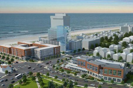 Atlantic City Stockton University campus