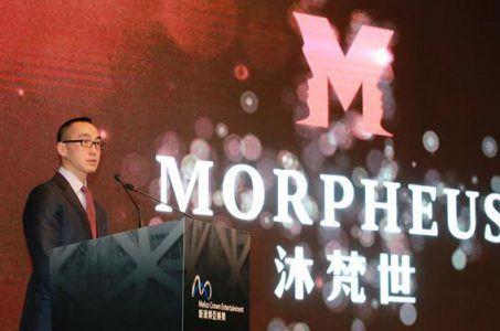 Macau revenues casino gaming Lawrence Ho