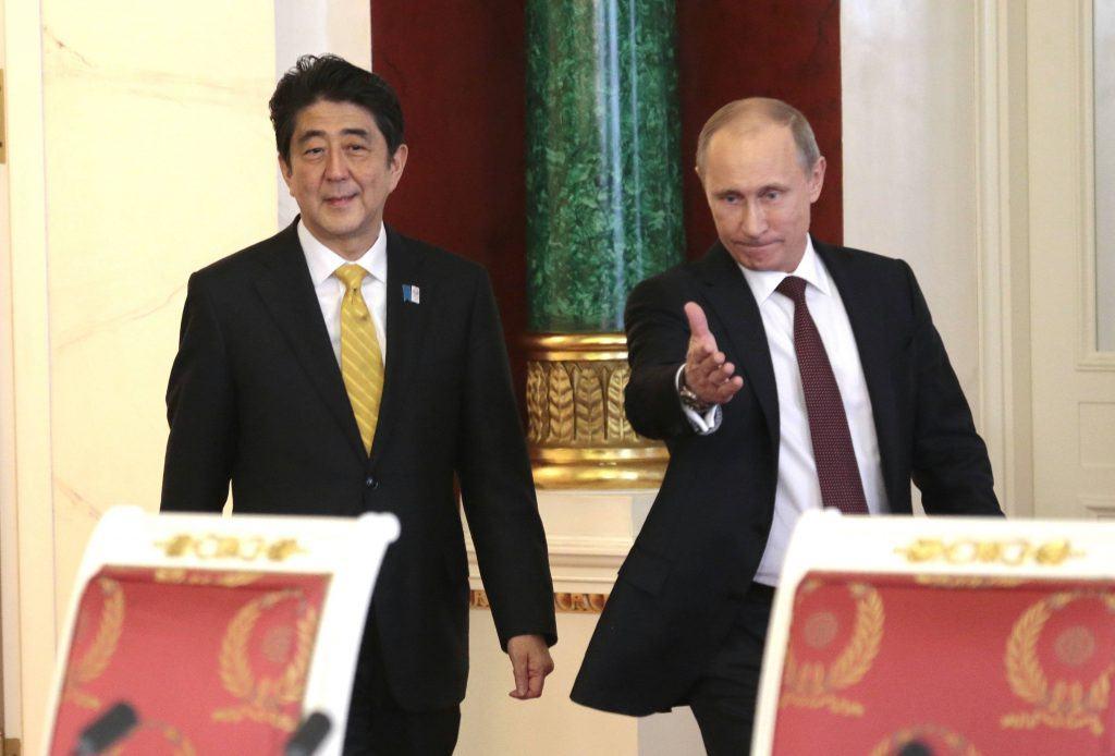 Sochi casino Vladimir Putin Sinzo Abe