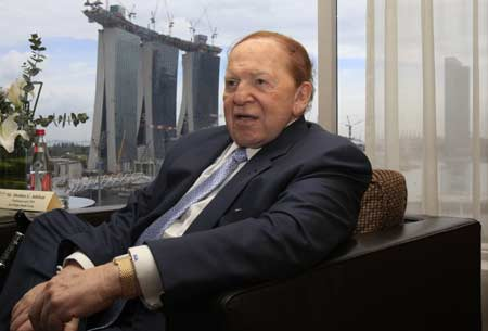 Singapore casinos Sheldon Adelson