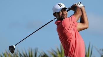 Las Vegas oddsmakers Tiger Woods