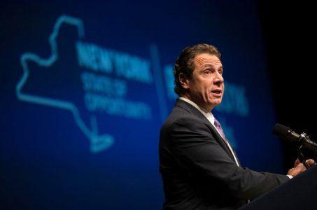 New York problem gambling Andrew Cuomo