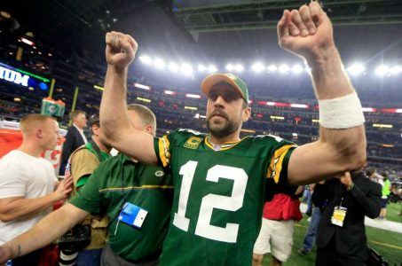 Vegas sportsbooks Aaron Rodgers NFL Playoffs