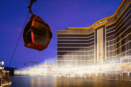 Las Vegasization Macau Wynn Palace