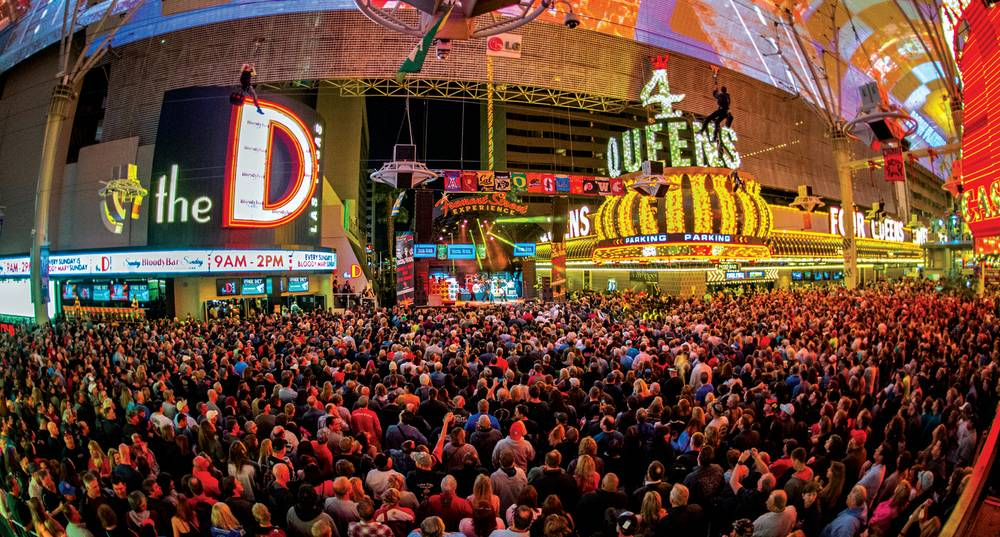 Downtown Las Vegas Nevada 2016 fiscal year